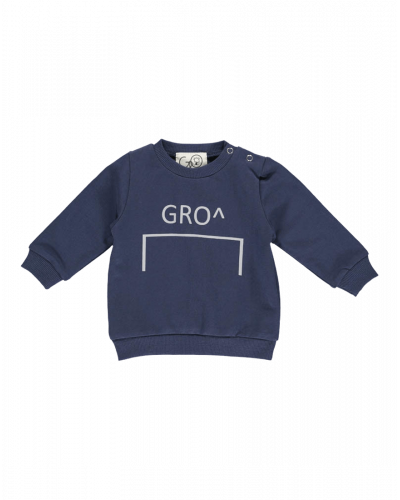 Gro Venus Baby Sweat Stone Navy