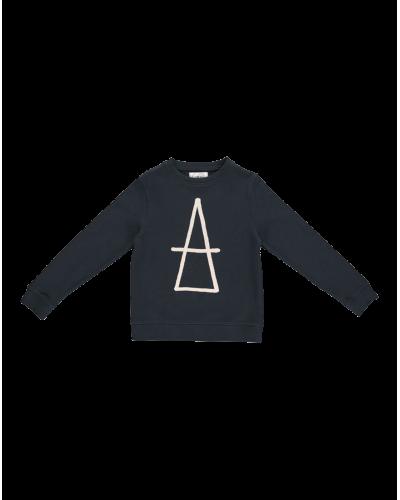 Mads Sweatshirt Mørk Petrolium