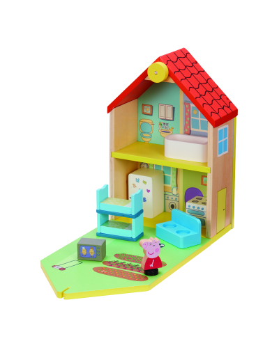 Peppa Wood Play Family Home