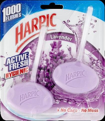 Toiletblok Hygienic Lavendel 2 pak