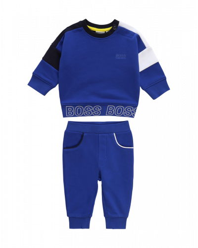 Hugo Boss Track Suit Blue