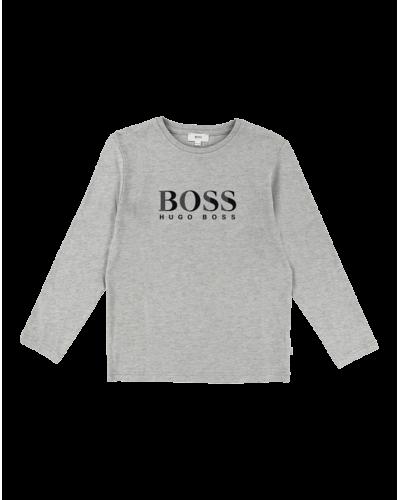 Hugo Boss Langærmet t-shirt Grey