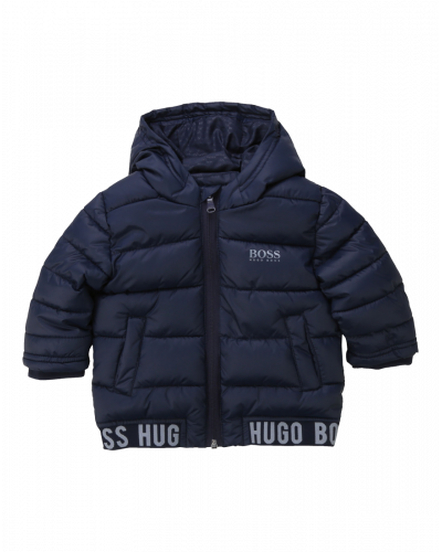 Hugo Boss Puffer Jakke Navy