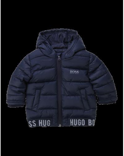 Hugo Boss Puffer Baby Jakke Navy