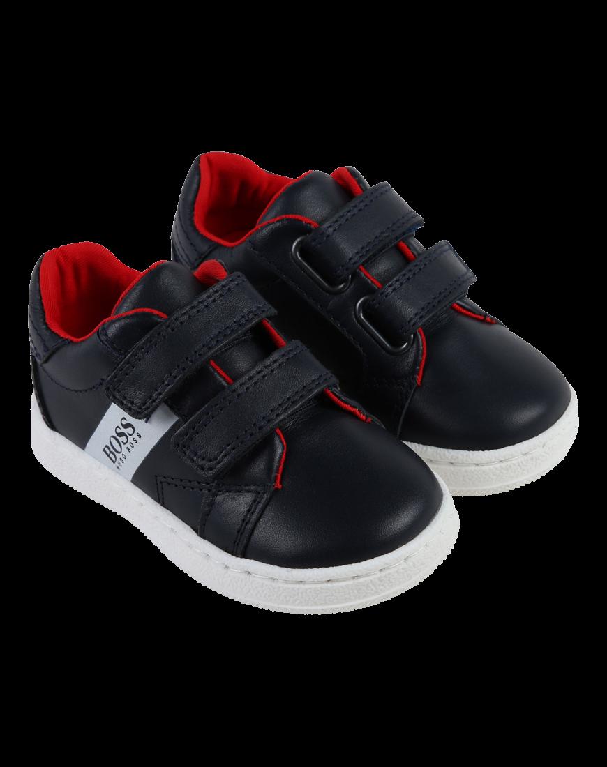 Sneakers m. Velcro Navy