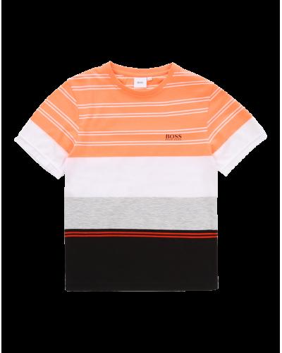 Hugo Boss T-shirt Orange/Sort