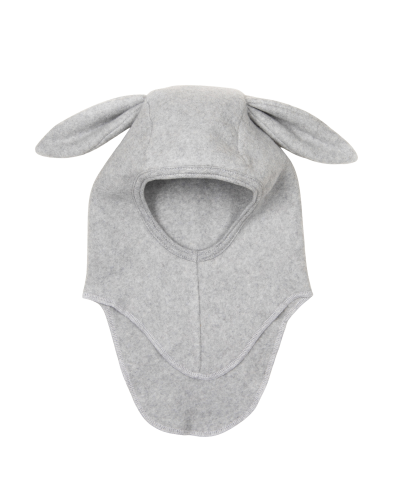 BUNBUN Elephanthue Fleece W/Rabbit Ears Light Grey