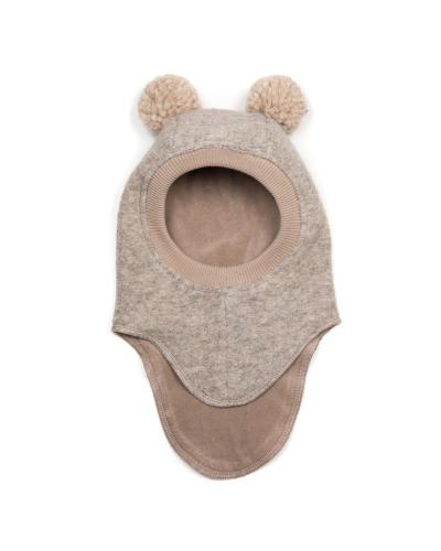 Elefanthue BIGBEAR Wool w/yarn pom Camel