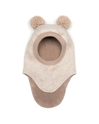 Elefanthue BIGBEAR Wool w/yarn pom Sand /OW