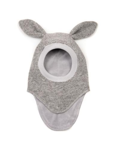 Elefanthue BUNNY Uld Light Grey
