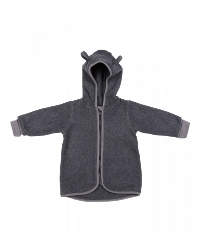 Huttelihut Fleece Trøje/Jakke Dark Grey