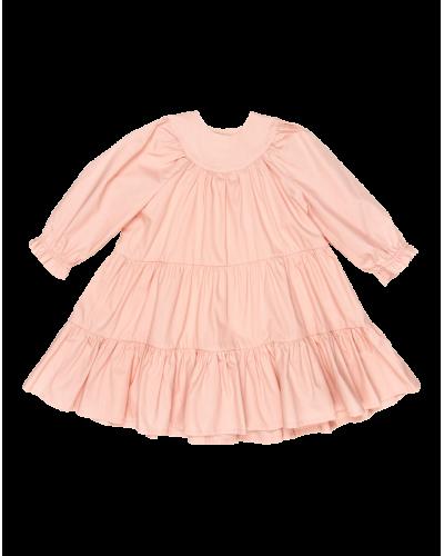 Frillie kjole salmon poplin
