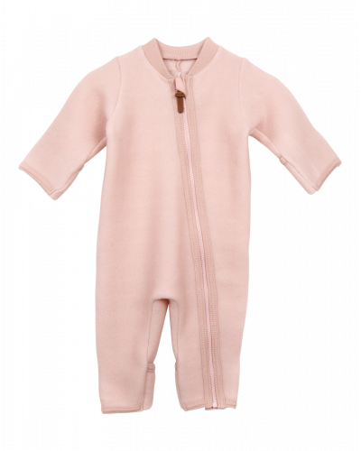 Huttelihut Baby Suit Plain Dusty Rose