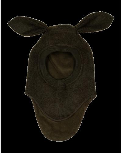 Huttelihut Elefanthue Bunny Ears Dark Green
