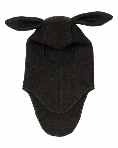 Huttelihut Elefanthue Fleece Rabbit Green