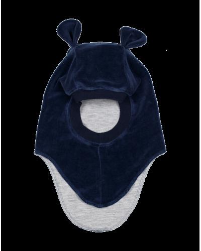 Huttelihut elefanthue m. øre navy