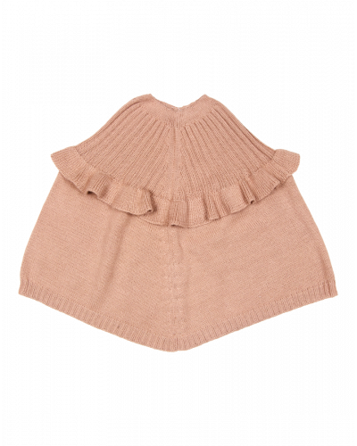 Huttelihut Poncho Dusty Rose