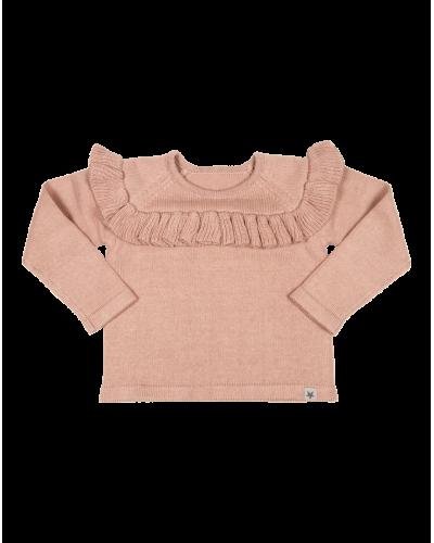 Sue sweater D. Rose