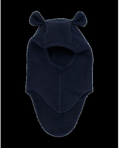 Huttelihut teddy elefanthue bomuld/fleece Navy