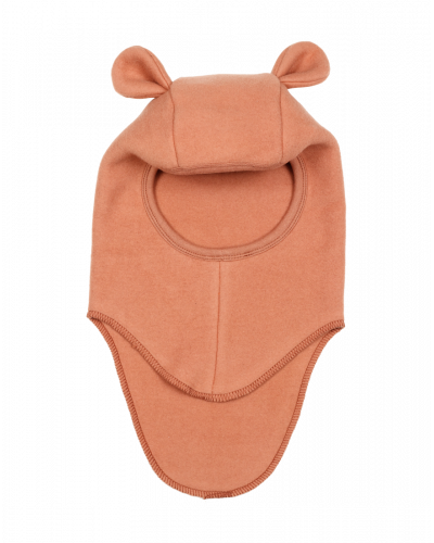 teddy elefanthue bomuld/fleece Terracotta