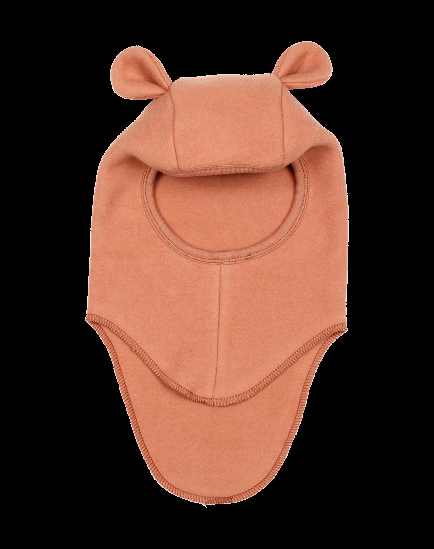 teddy elefanthue bomuld/fleece Terracotta
