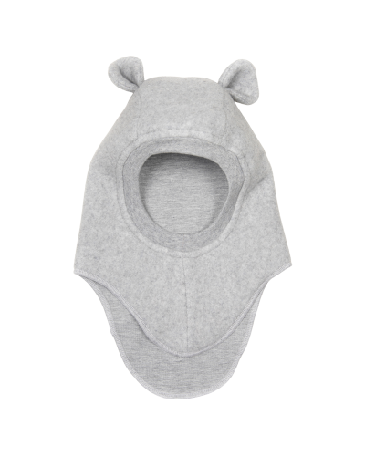 Plys Elephanthue Fleece-Jersey W/Ears Light Grey