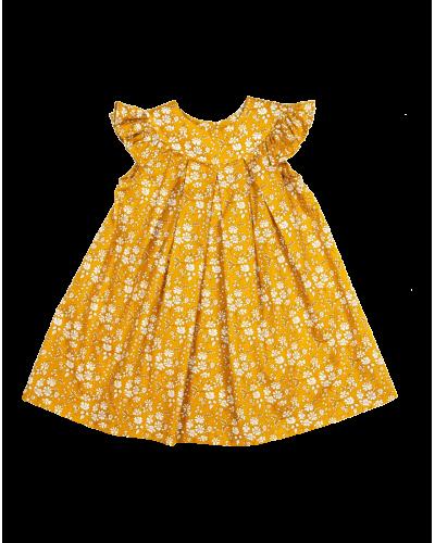 Sophie kjole liberty capel mustard