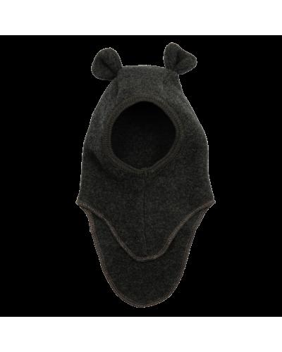 TEDDY Elefanthut Wool Fleece W/Rabbit Ears Dark Green