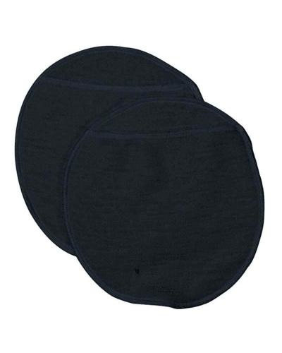 Ammeindlæg i blød uld sort