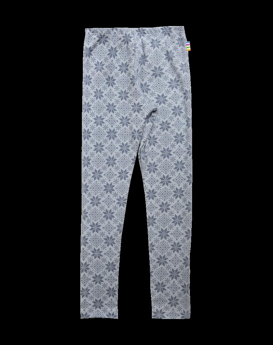 JOHA Leggings Merinould Blå