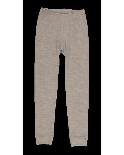 Leggings Uld Lysebrun