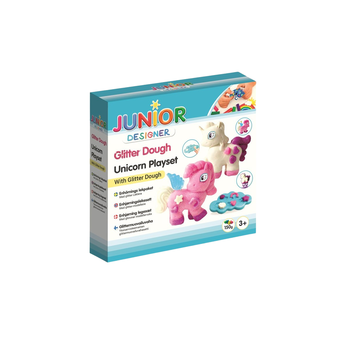 Glitter Dough Unicorn Playset