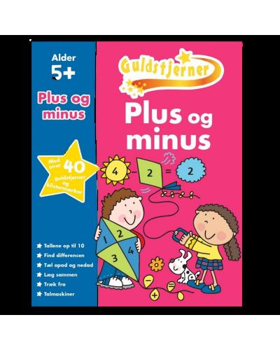 Guldstjerner - Plus og minus (opgavehæfte)