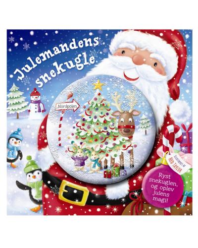Julemandens snekugle (billedbog med snekugle på forsiden)