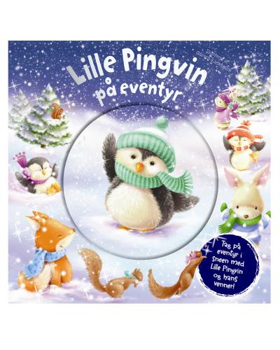 Lille pingvin på eventyr (billedbog med snekugle på forsiden)
