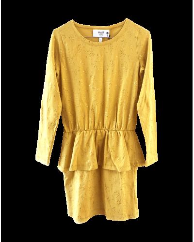 Knast by Krutter Kjole Dicte Yellow