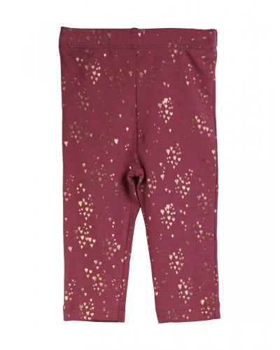 Knast by Krutter Leggings Red/Plum