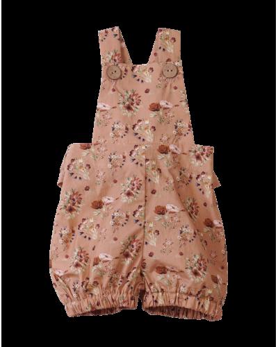 Vera Overall Shorts Nougat