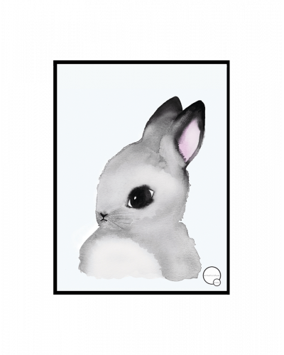 Kreativitum Poster Bunny