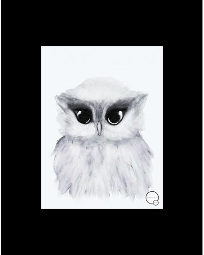 Kreativitum Poster Owl