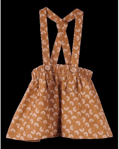 Krutter Cinnamon Flower Skirt