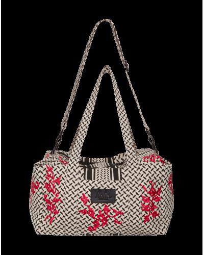 Lala Berlin Big Bag Muriel Embroidery Flowerspray