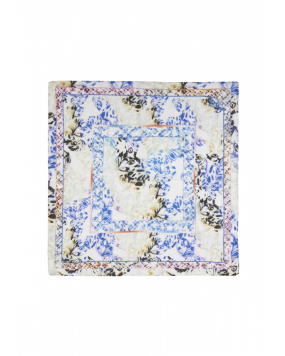 Cotton Voile Butterfly Blue