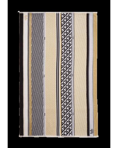 Håndklæde Tissy Desert Monogram Stripes