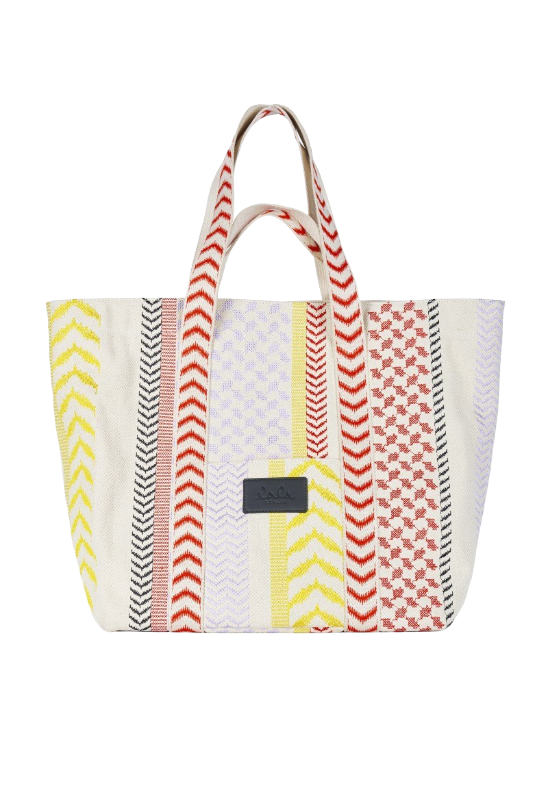Lala Berlin Bag Anika X-Stitch Quadricolor