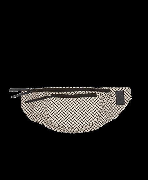 Big Belt bag Kana Sort/Hvid