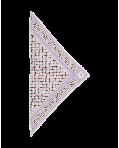 Tørklæde Triangle Confetti S/Junior Lilac/alabastro
