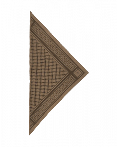 Tørklæde Triangle Confetti Choclate XS