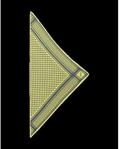 Lala Berlin Tørklæde Triangle Grey XS Canarino