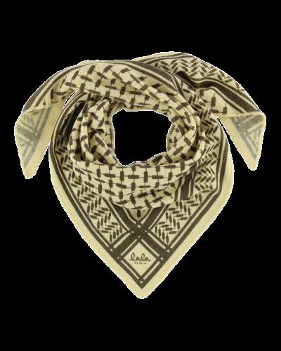 Lala Berlin Tørklæde Triangle XS Camomilla